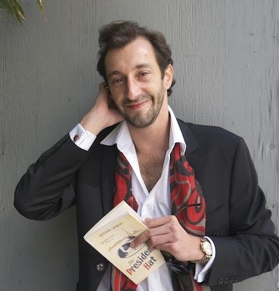 Antoine Laurain. Photo by Marissa Bell Toffoli (2013).